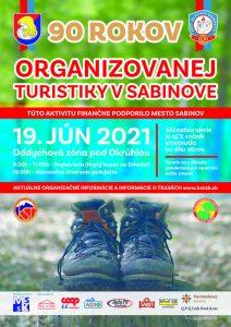 90. rokov organizovanej turistiky v Sabinove, stretnutie turistov na útulni pod Okruhlou. @ Čergovské pohorie, Okruhla